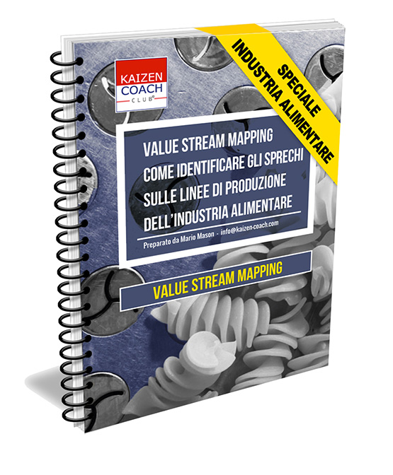 manuale value stream mapping alimentare
